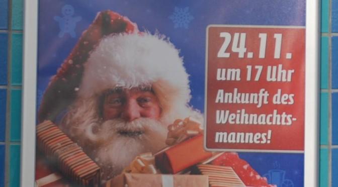 In Sachsen kommt der Weihnachtsmann einen Monat zu früh