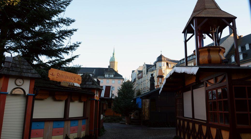 Der Annaberger Weihnachtsmarkt am Totensonntag