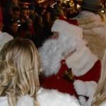 Der Weihnachtsmann taucht auf