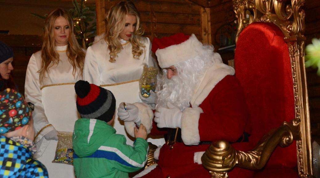 Der Besuch des Weihnachtsmanns kann zur Tragödie werden